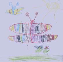 Gemalte Kinderbilder die entwicklung der kinderzeichnung knetfeders kleinkindpädagogik