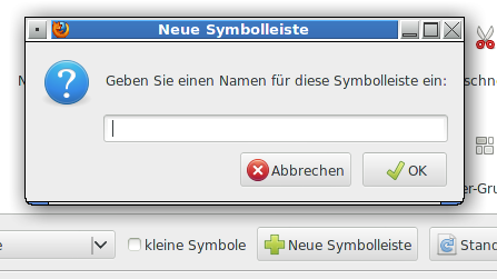 Firefox-Smbolleistendialog
