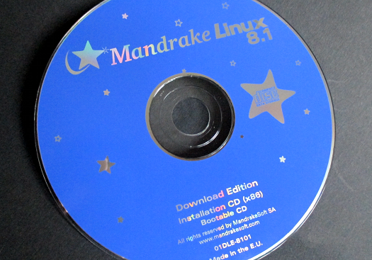 Mandrake-8.1-Installations-CD