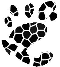 Zerpflücktes Gnome-Logo