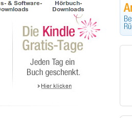 Amazon verschenkt E-Books