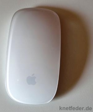 Apple-Maus aus Vogelperspektive