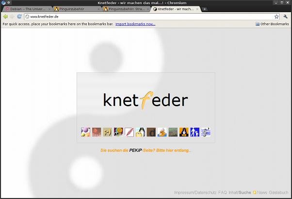 Chromium-Browserfenster