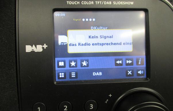 Kein Empfang mit DAB-Plus-Radio