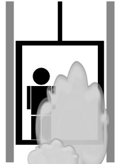 Qualm im Aufzugsschacht