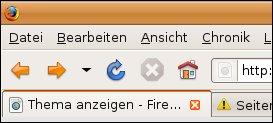 Firefox unter Ubuntu-Linux