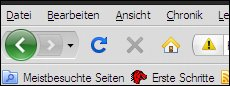 Firefox-Icons unter WindowsXP