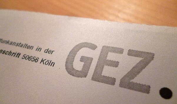 GEZ-Briefkopf