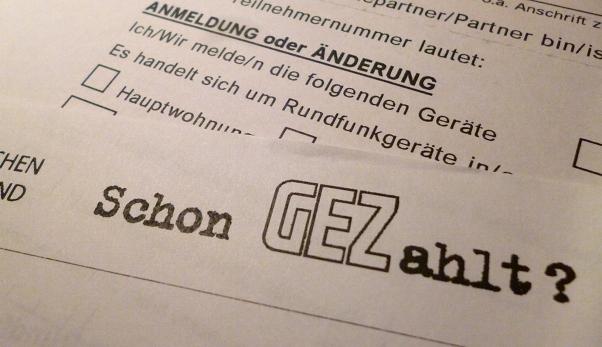 GEZ-Aufforderung zur Geräteanmeldung