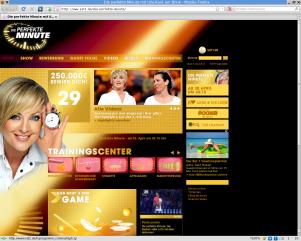 Screenshot Sat.1-Seite zur Sendung