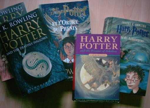 Harry-Potter-Bücher