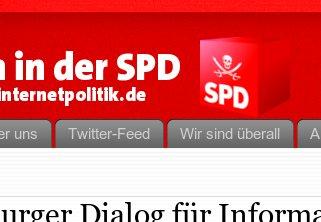die SPD setzt nun auch auf Piratensymbolik