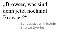 Browser, was sind denn jetzt nochmal Browser?