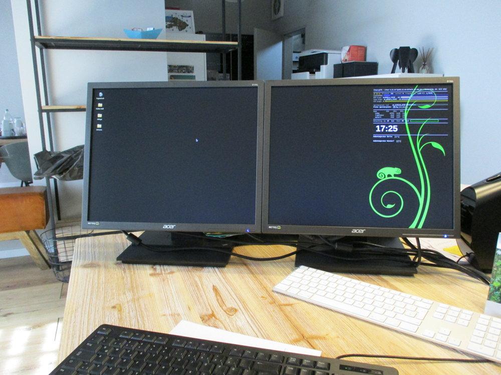 Linuxrechner im Büro