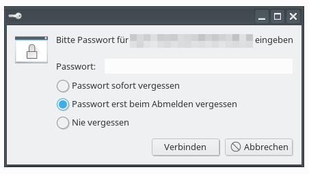 Passwortabfrage bei FTPS-Verbindung