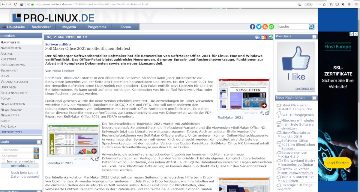 Screenshot Pro-Linux