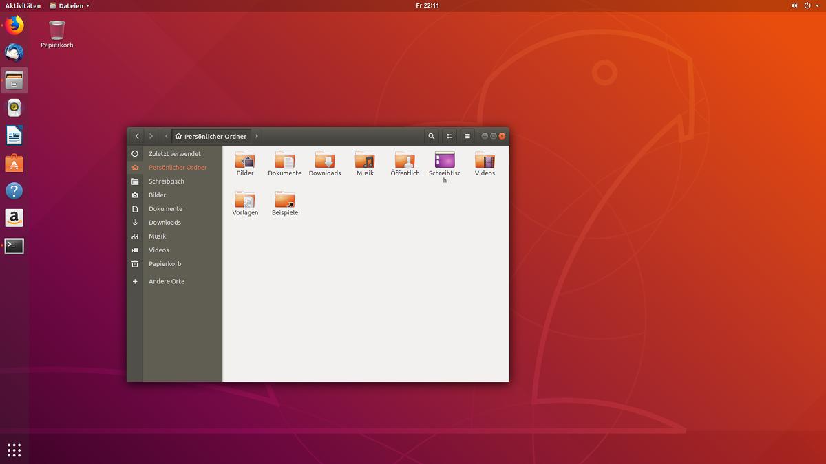 Ubuntu-Desktop 18.04