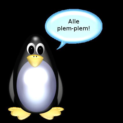 Verrückt | Der Ente & die Pinguin
